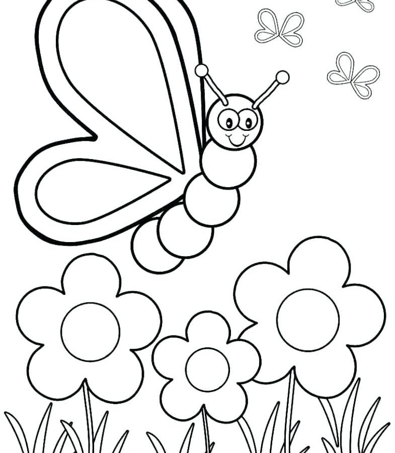 785x900 Fine Free Spring Coloring Pages Printables Pictures For Adults Pdf