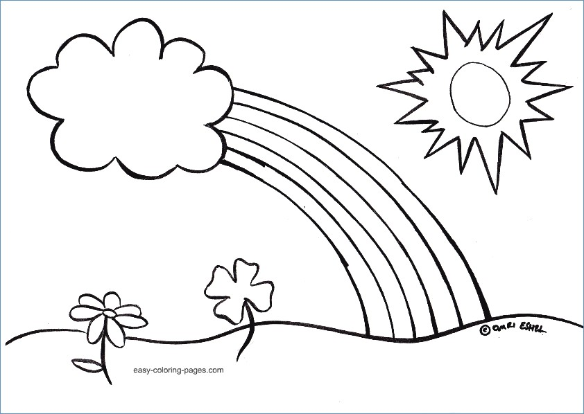 842x598 Spring Coloring Pages Printable Activities