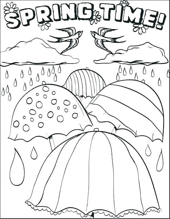 544x700 Amazing Printable Spring Coloring Pages For Free Fitness