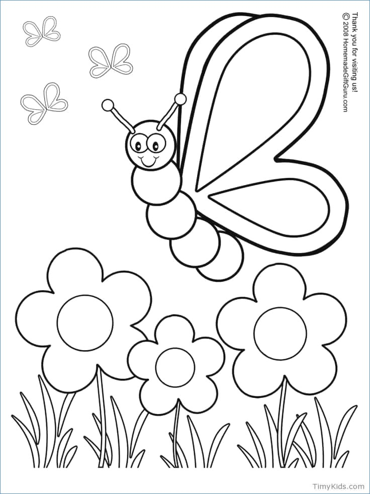 736x982 Spring Flowers Coloring Pages Children