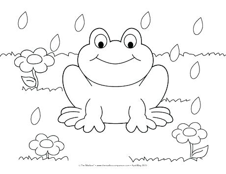 460x354 Coloring Pages For Kindergarten Spring Coloring Pages Spring