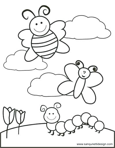 400x513 Coloring Pages For Preschoolers Spring Halloween Pumpkin Coloring