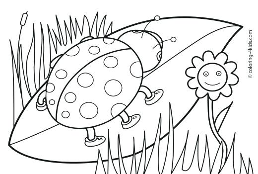 520x350 Free Printable Coloring Pages For Kindergarten Free Printable