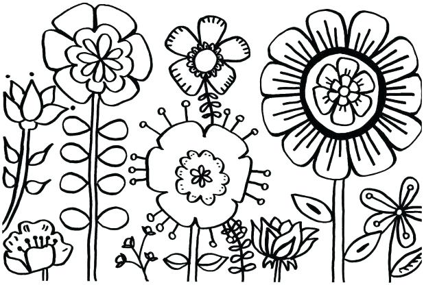 618x416 Free Printable Coloring Pages For Spring Spring Coloring Sheets
