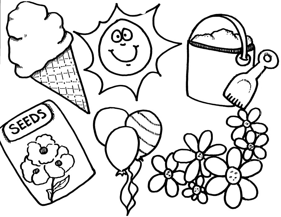906x700 Spring Coloring Pages Preschoolers Cooloring Spring Coloring Pages