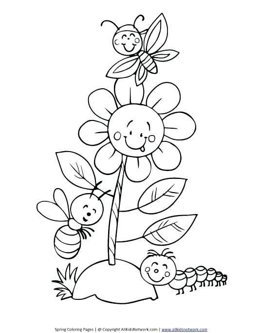 530x683 Caterpillar Spring Coloring Sheet Free Coloring Spring Coloring