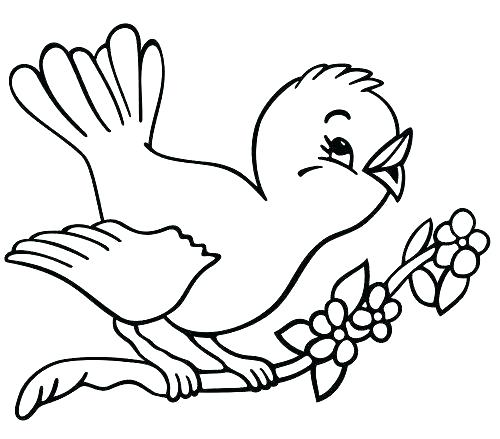 500x439 Spring Coloring Pages Spring Coloring Pages For Adults Spring