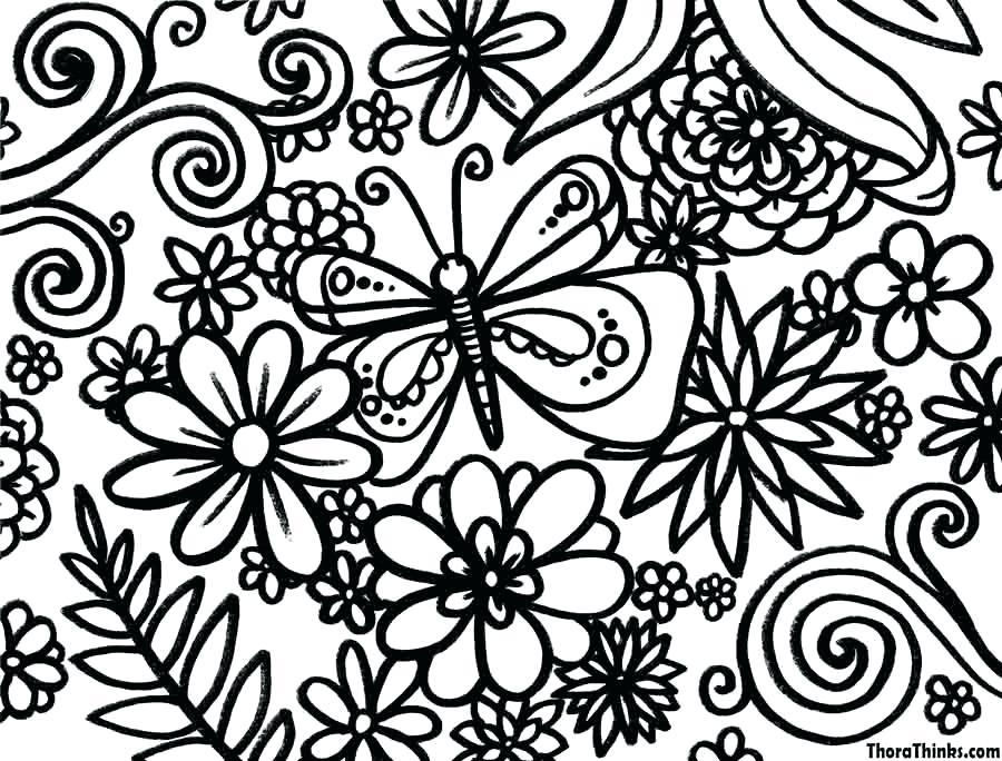 900x684 Spring Coloring Pages Spring Coloring Pages Printable Spring