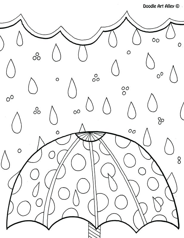 618x800 Springtime Coloring Pages Spring Flower Coloring Pages Ladybird