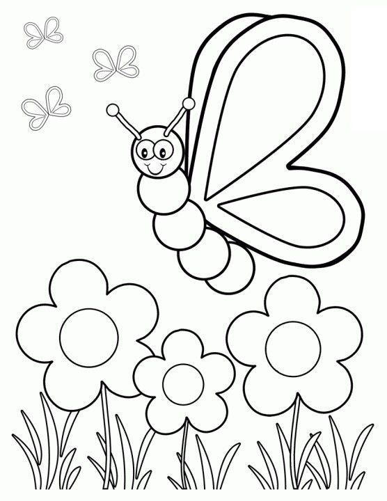 Spring Coloring Pages To Print At Getdrawings Com Free For