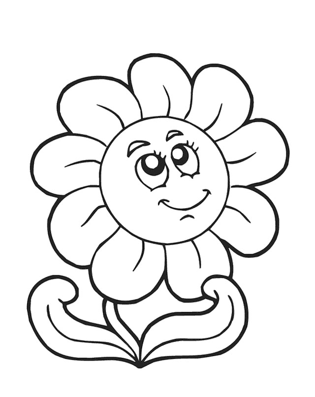 640x806 Spring Flower Coloring Pages Best Spring Flowers Coloring Pages