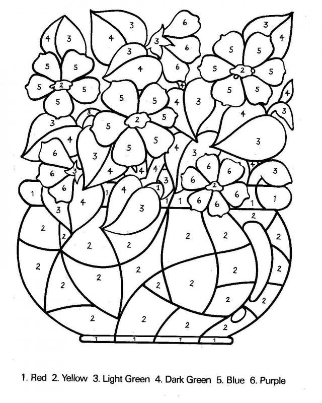 640x800 Spring Coloring Pages Color