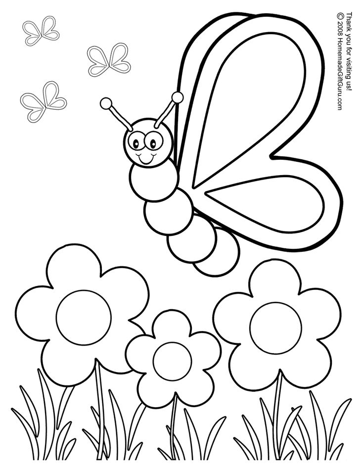 736x952 Spring Coloring Pages Free Printable