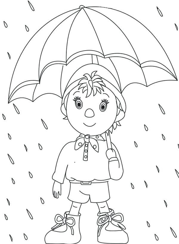 600x816 Rain Coloring Page Coloring Trend Medium Size Rainy Day Coloring