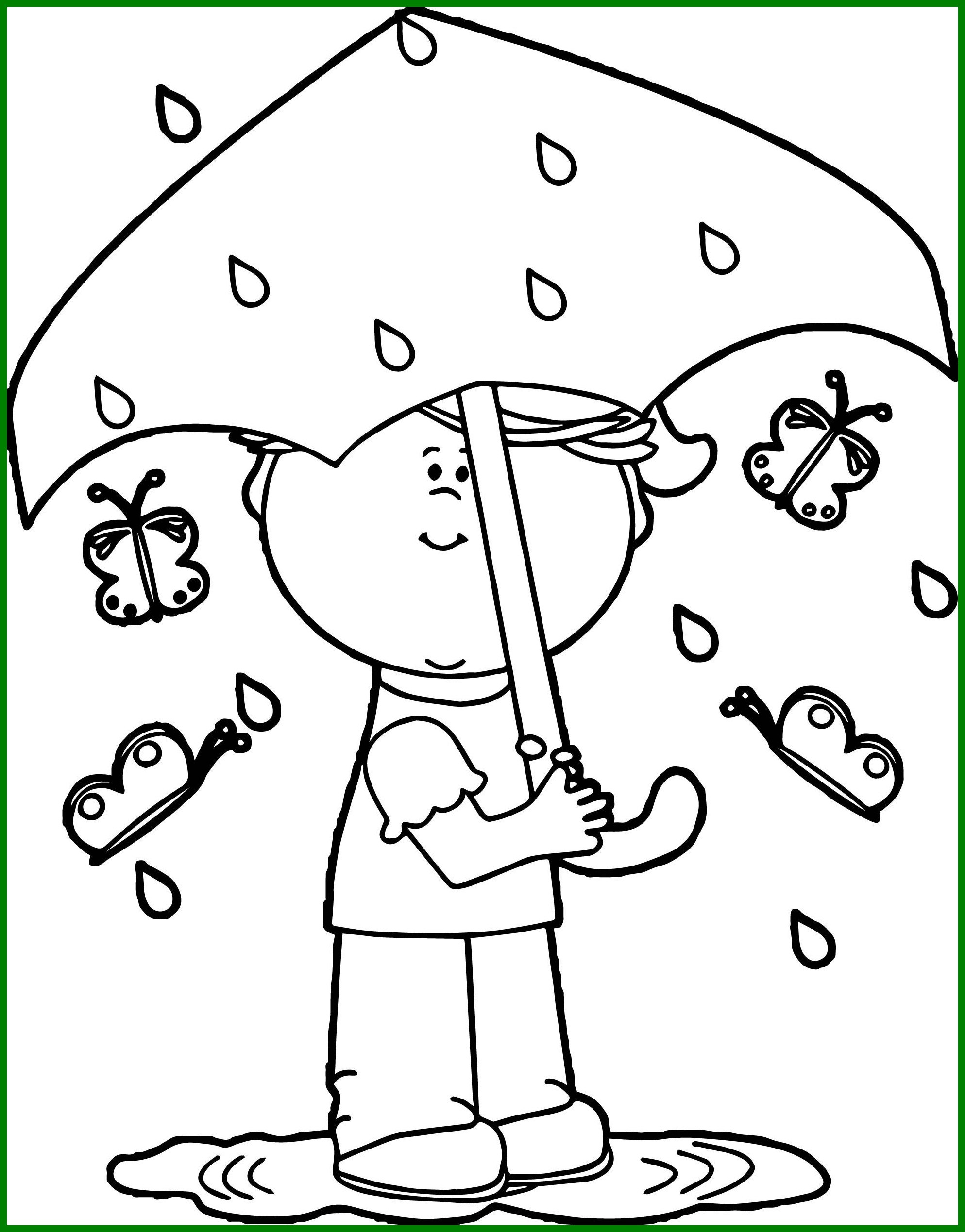 1987x2538 Awesome Spring Rain Coloring Pages Nathawe Pics For Themed Trend