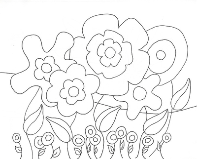 400x322 Spring Rain Coloring Pages Page Image Clipart Images