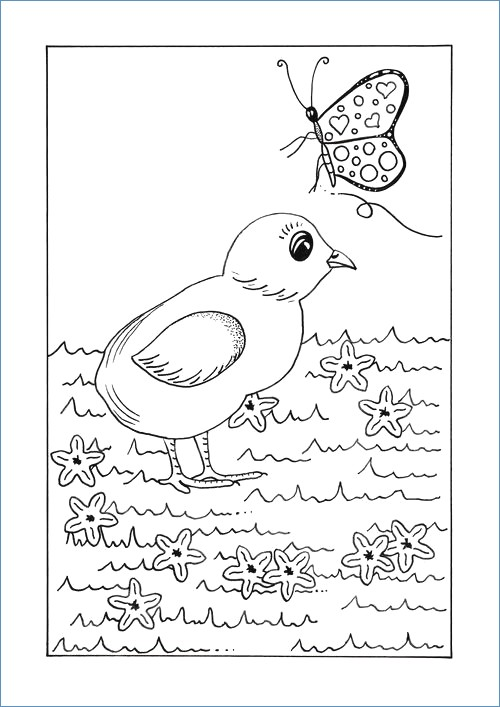 500x707 Spring Weather Coloring Pages