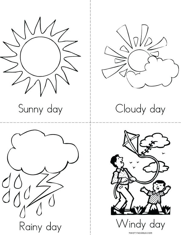 599x776 Weather Coloring Page Spring Weather Coloring Pages Printable