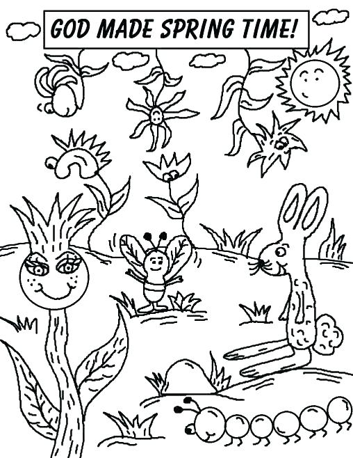 508x658 Spring Printable Coloring Pages Coloring Pages For Spring Spring