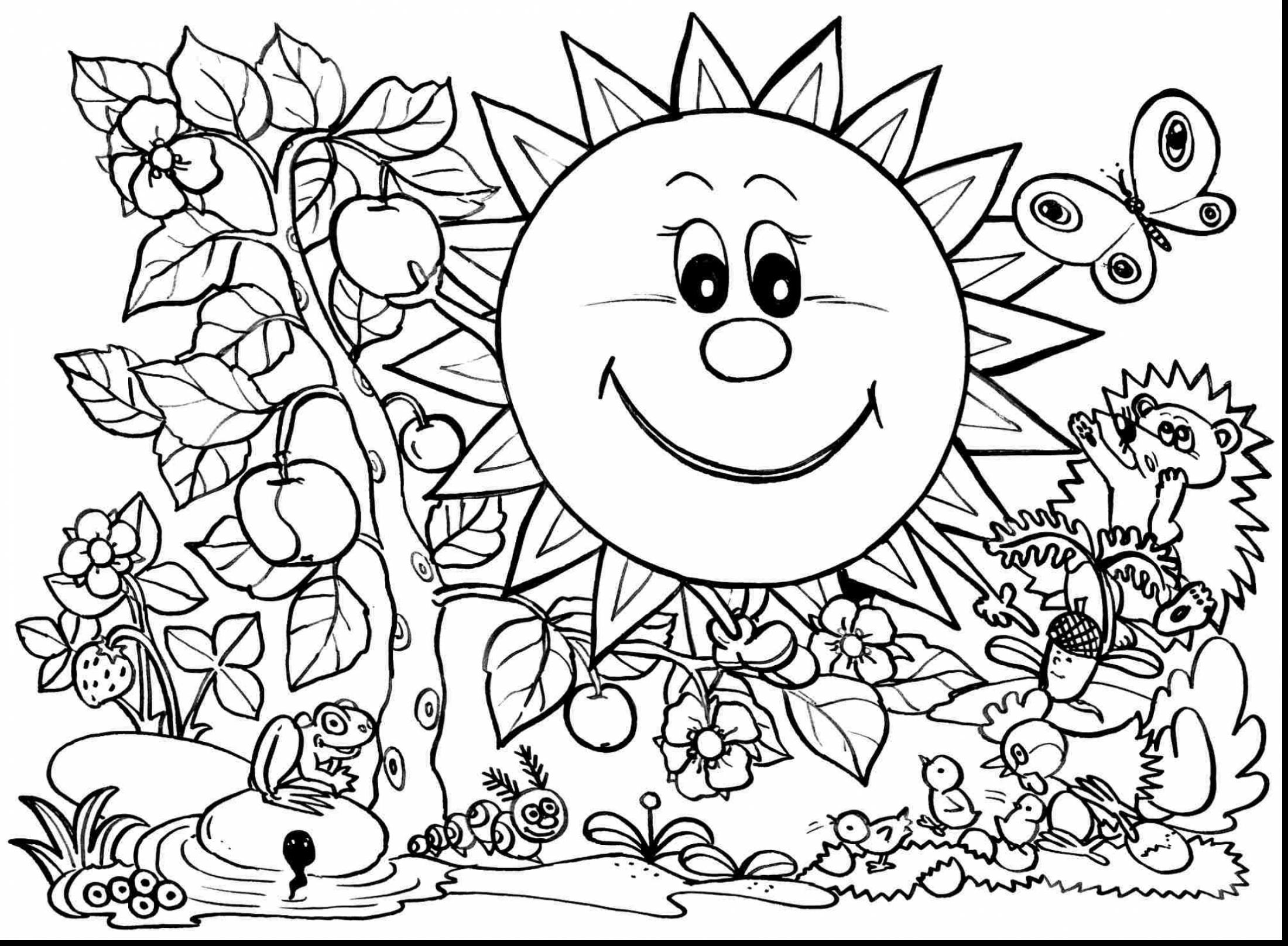 2200x1617 Spring Themed Coloring Pages Go Digital With Us