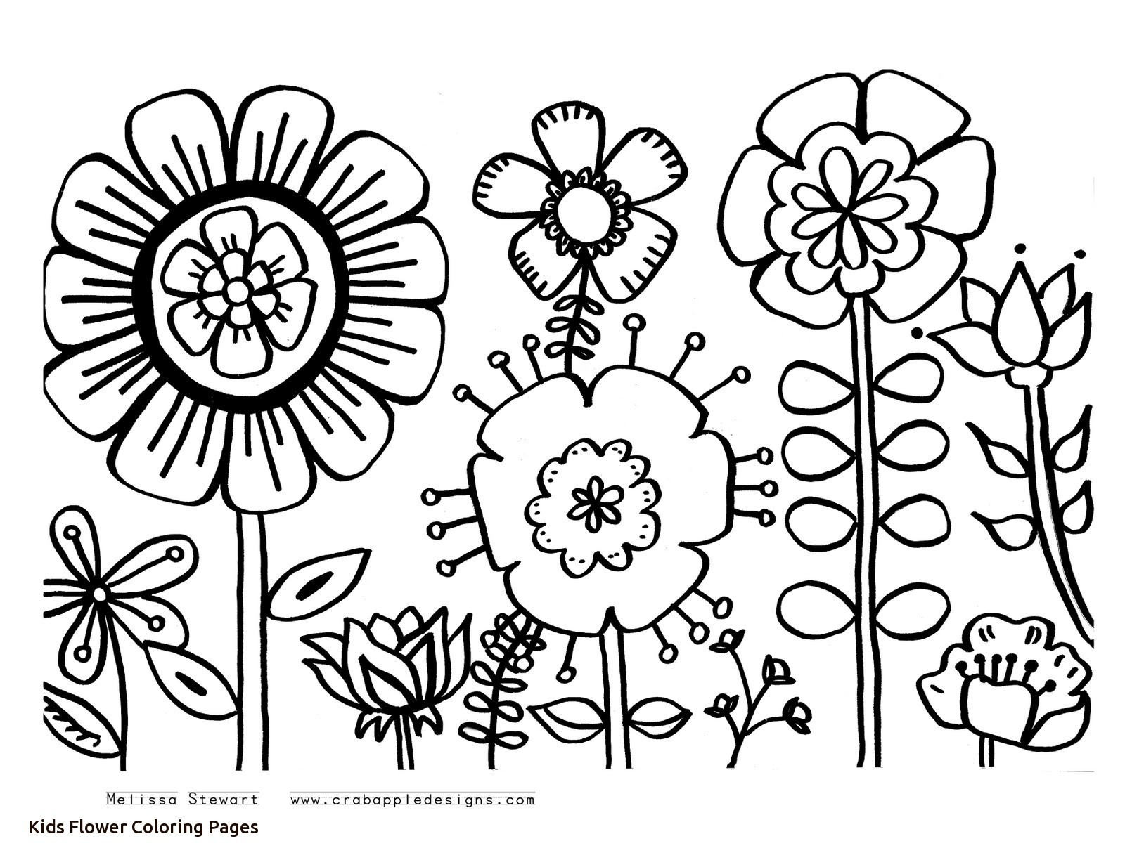 1600x1234 New Flowering Tree Coloring Pages For Kids Beautiful Coloring