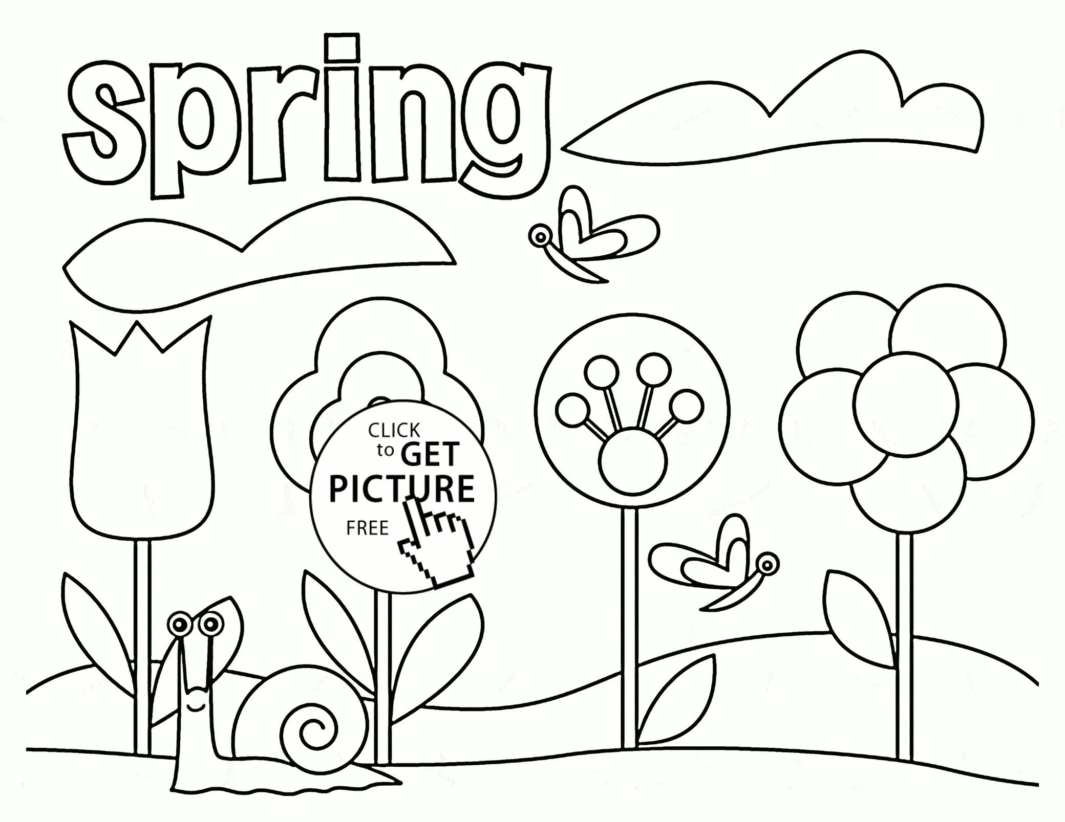 2080x1607 Spring Coloring Pages Printable New Beautiful Spring Tree Coloring