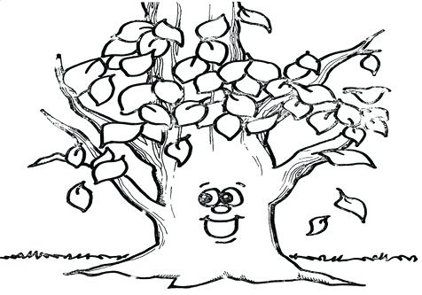 476x333 Bare Tree Coloring Page Together With Coloring Page Tree Coloring