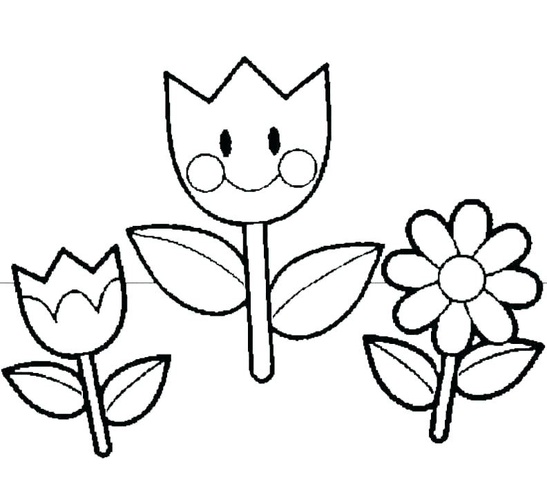 792x708 Free Printable Spring Coloring Pages Collections Free Coloring