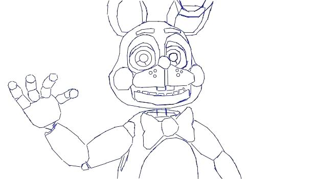 622x350 Fnaf Springtrap Coloring Pages Collection Toy Page