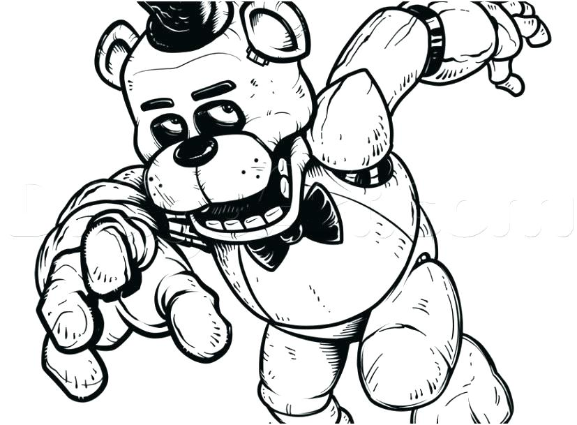 827x609 Springtrap Coloring Pages Coloring Pages Images Of Springtrap