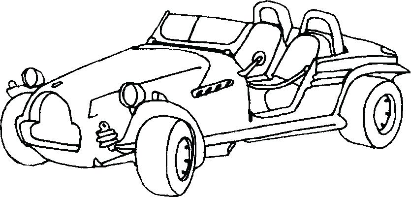 835x400 Awesome Car Coloring Pages Click To View Full Size Image Car