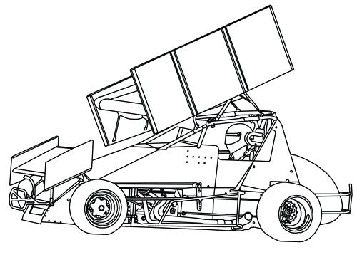 500x368 Sprint Car Coloring Pages Sch Galaxy Android Smartphone White