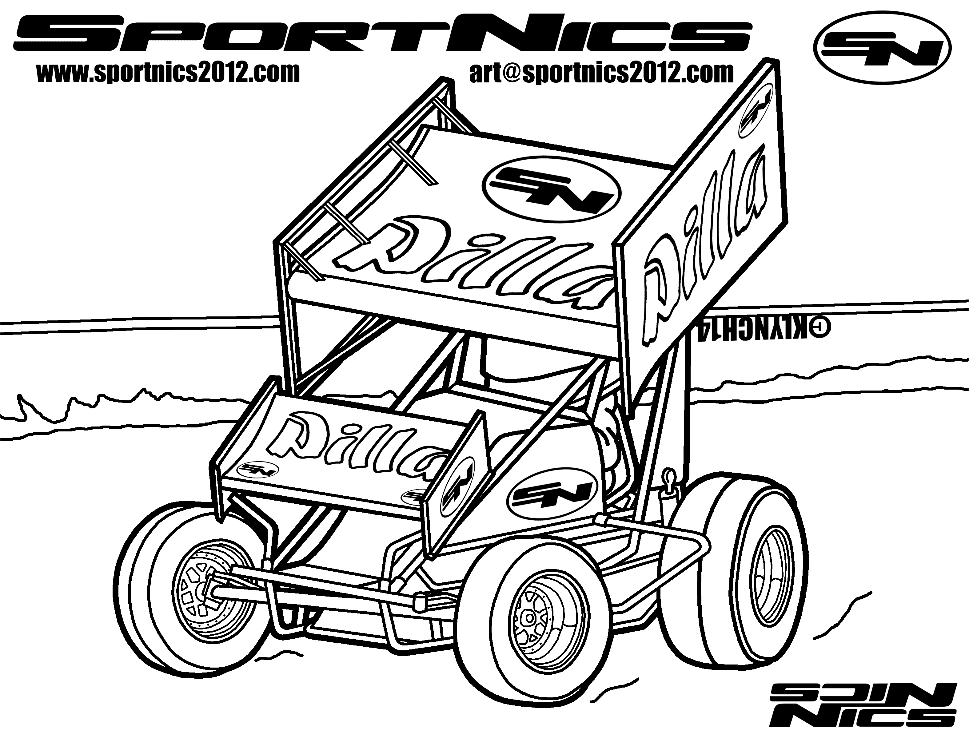 3150x2400 Stock Car Coloring Pages Sprint Car Coloring Pages Mangunan