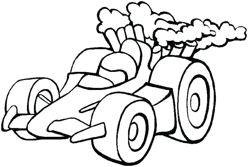 860x581 Elegant Along With Stunning Sprint Car Coloring Pages Pertaining