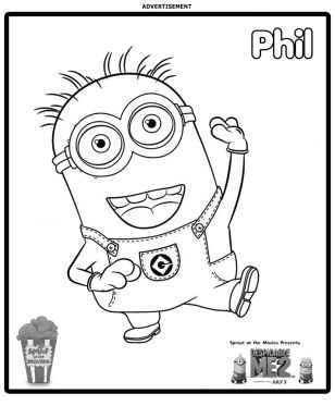 308x373 Sprout Coloring Pages Funycoloring Stunning