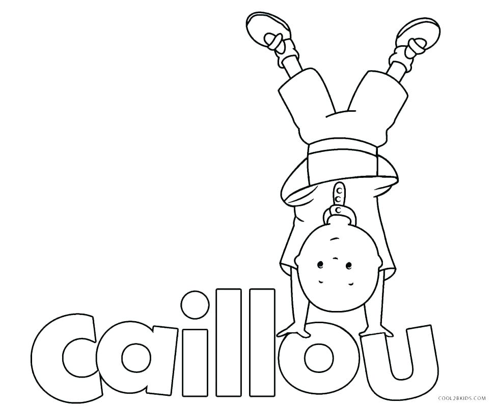 970x801 Caillou Coloring Pages Coloring Page Coloring Pages Games