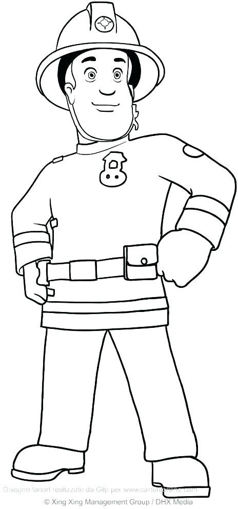 464x992 Tv Coloring Pages Sprout Coloring Pages Beautiful Fireman Coloring