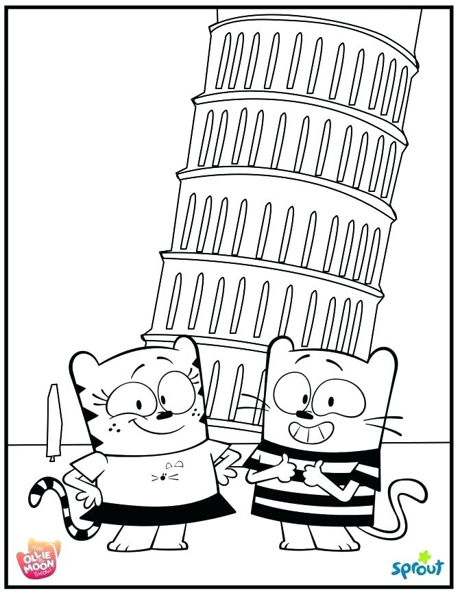 671x868 Tv Coloring Pages Sprout Coloring Pages Coloring Coloring Pages