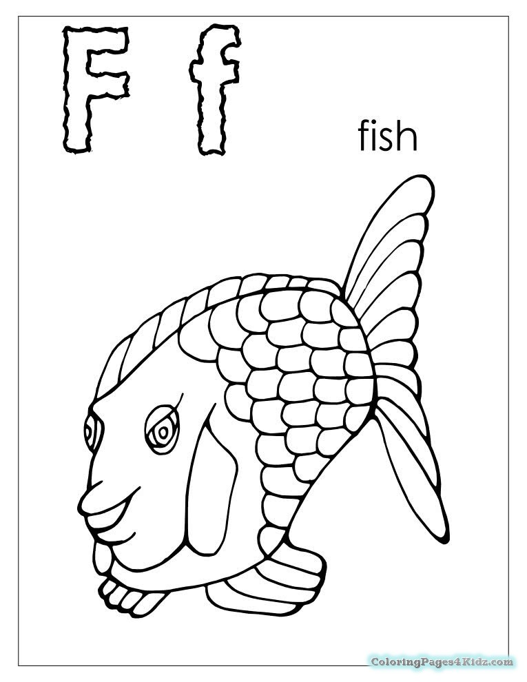 765x990 Alphabet I Spy Coloring Pages Letter F Coloring Pages For Kids