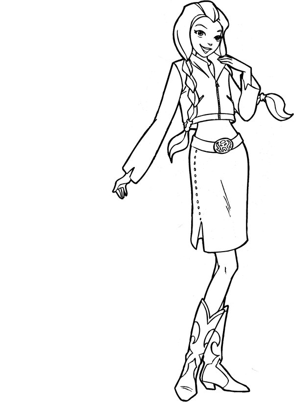 600x818 Kids N Coloring Pages Of Totally Spies