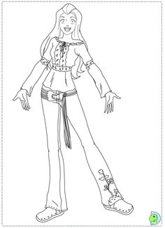 236x327 Totally Spies Coloring Page Colouring Pages
