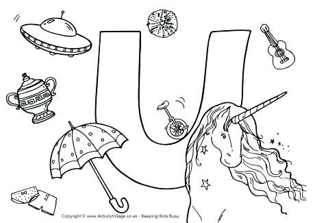 460x325 Spy Coloring Page Letter U Coloring Page Also I Spy Alphabet