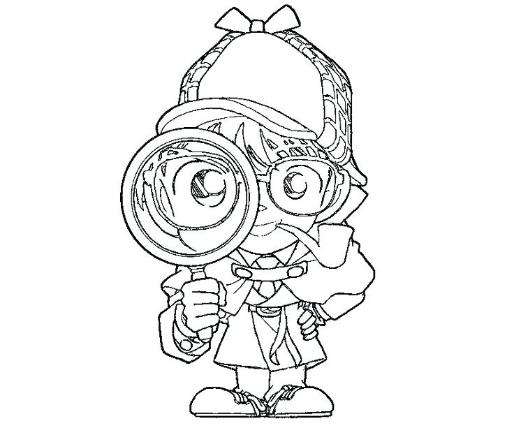 736x613 Idea Spy Kids Coloring Pages For Detective Coloring Page