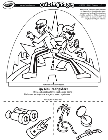 433x560 Spy Kids Coloring Page Coloring Pages Spy Kids And Spy