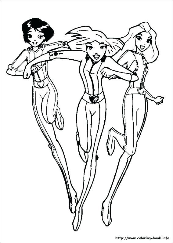 567x794 Spy Kids Coloring Pages