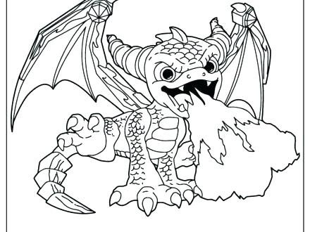 440x330 Spyro Coloring Pages Coloring Pages Giants Magic Coloring Page H M