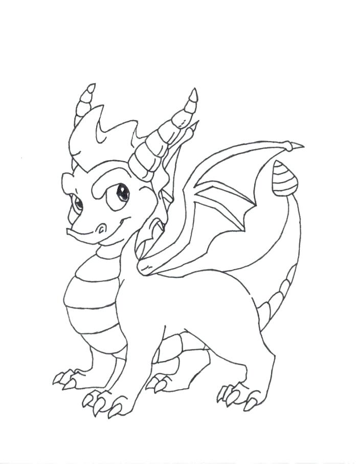 700x905 Spyro Coloring Pages Dragon Printable Coloring Pages Mega Ram