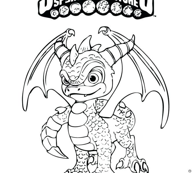 678x600 Spyro Coloring Pages Trigger Happy Coloring Page Excellent Pages
