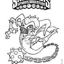 220x220 Spyro Coloring Pages
