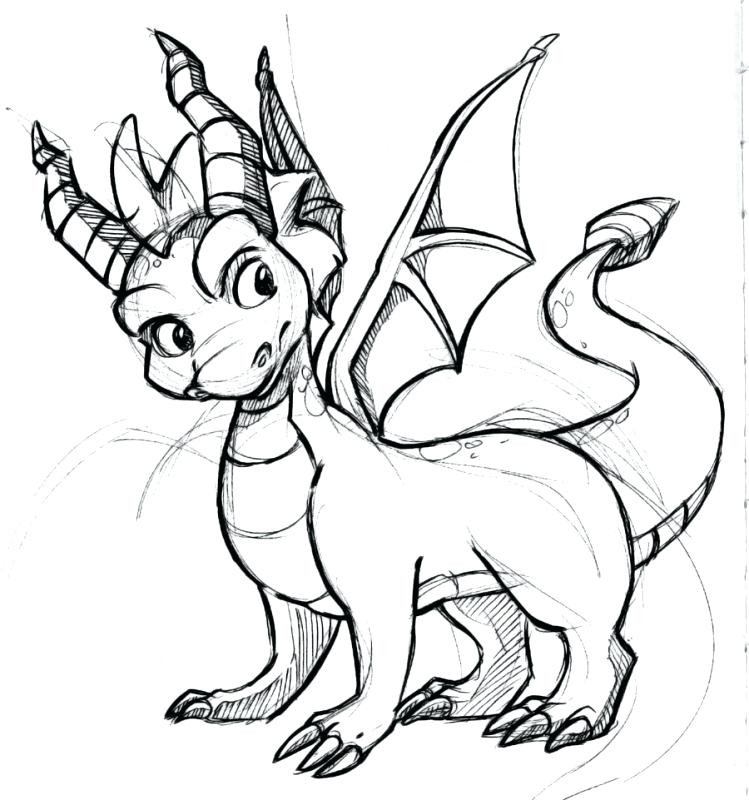 749x800 Coloring Pages Of Spyro The Dragon Chaihuthuytinh Com